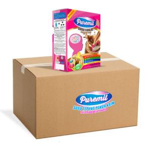 Puremil Coklat Per Karton