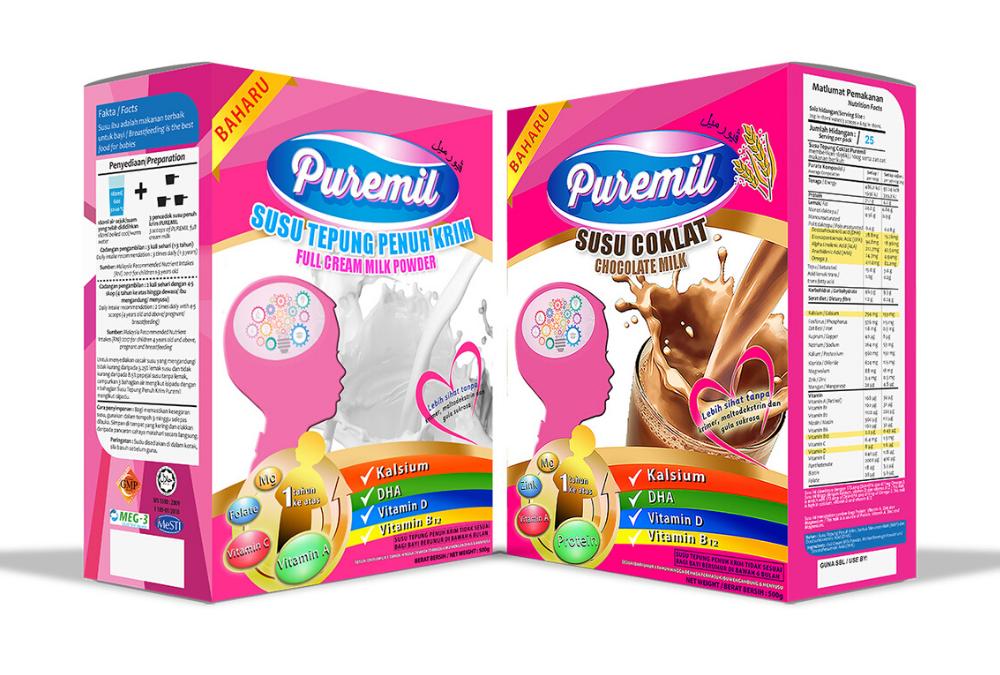 Susu Puremil Pengganti Susu Formula Untuk Anak Anda